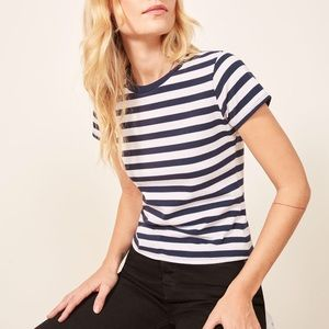 Ref Striped 70's tee